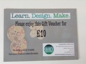 Ten Pound Voucher