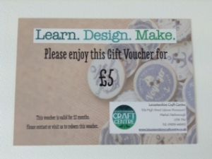 Five Pound Voucher