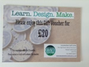 Twenty Pound Voucher