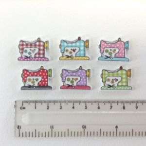 Sewing Machine Buttons